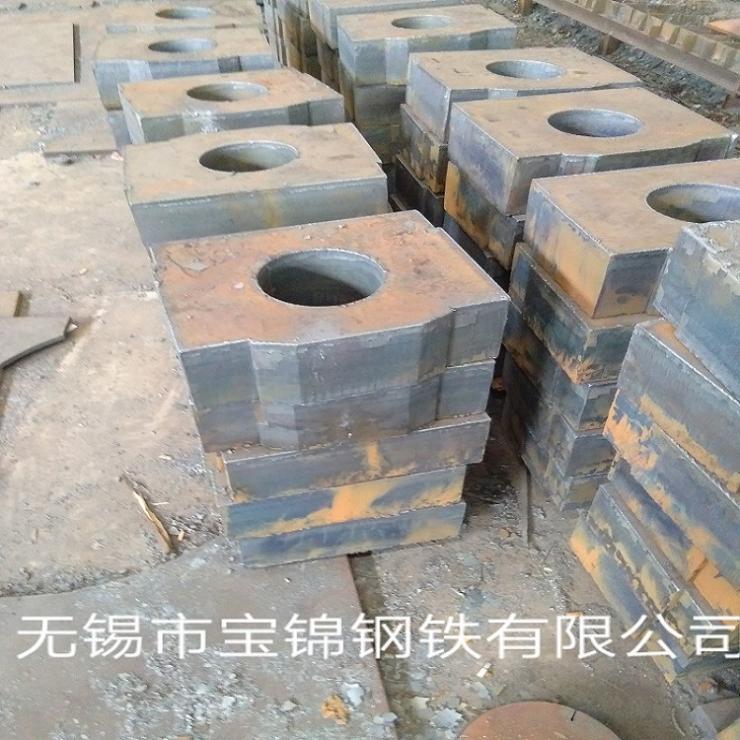 甘肅350-400厚切割鋼板異形件單位