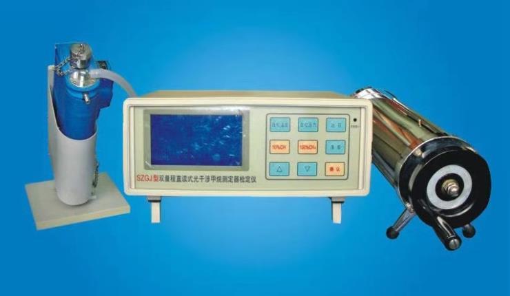 广腾销售双量程直读式光干涉甲烷测定器检定仪