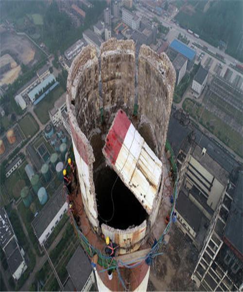 汶川县砖烟囱拆除