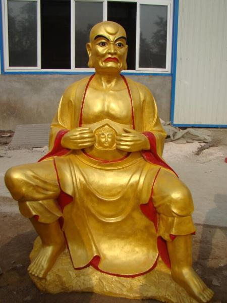 黃銅十八羅漢像加工鑄造 河北銅佛像廠家