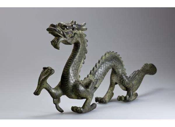 铜龙铸造厂 贴金铜龙 铜龙雕塑