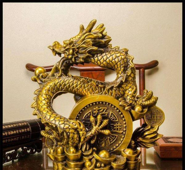 铜龙铸造长 青铜龙 铜龙戏珠