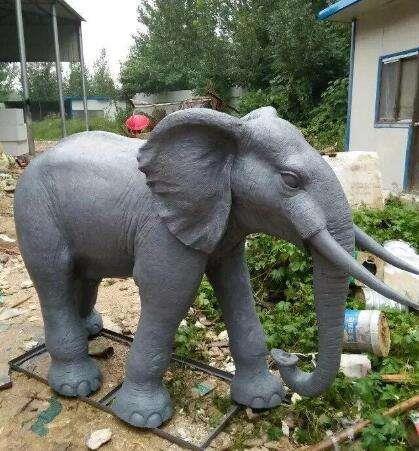 招財銅大象擺件 銅大象定制廠家