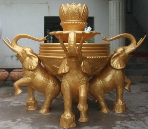 景觀銅雕象擺件 銅大象生產廠家