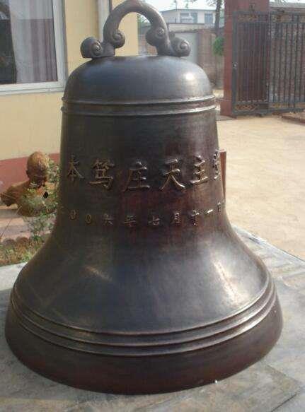 冬瓜型铜雕钟 1.5米铜钟 定制铜钟