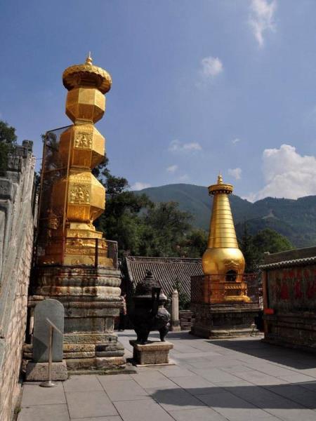 铜雕塔工艺品 大型铜塔 开光铜雕塔