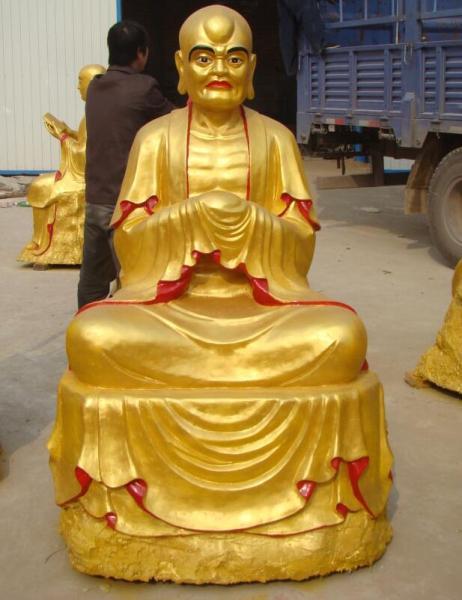 純銅十八羅漢像寺廟擺件生產廠