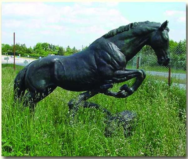 銅馬奔騰雕塑 銅馬圖片 銅馬生產廠家