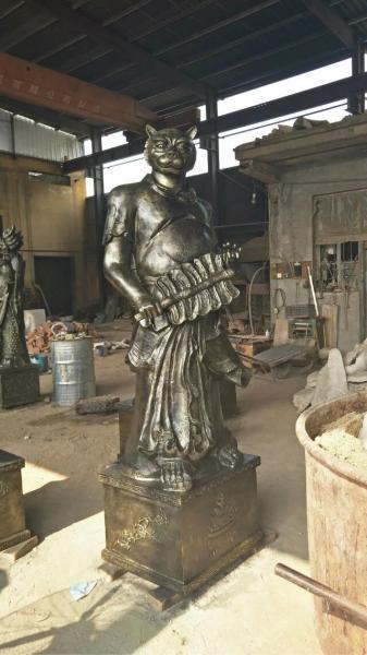 铸造铜雕十二生肖 景点铜雕十二生肖摆件