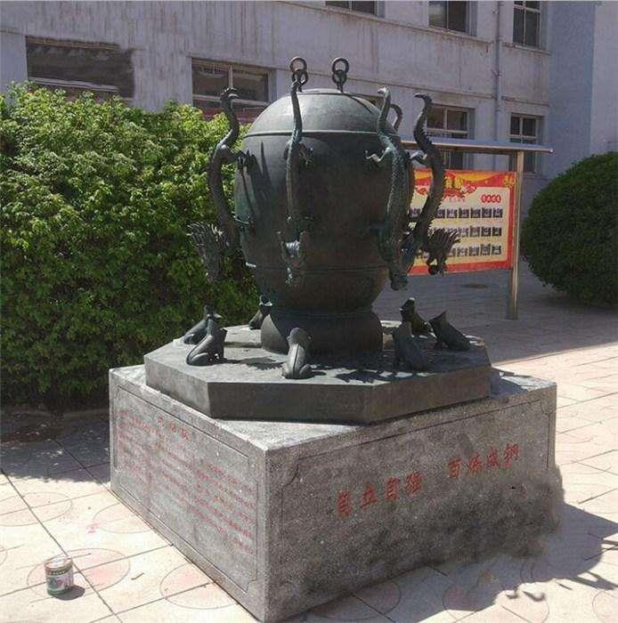 广场地动仪雕塑 直销地动仪雕塑摆件