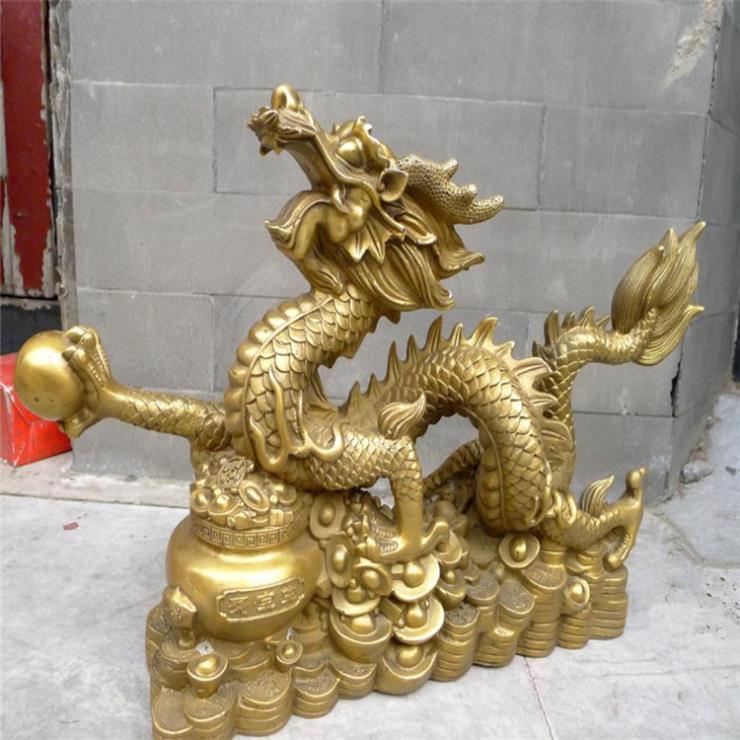 銅龍工藝品擺件 銅龍價格 進忠銅龍廠家