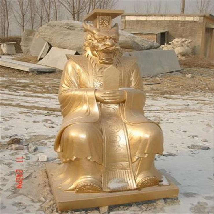 定做龍王神像銅雕 唐縣銅佛像廠家