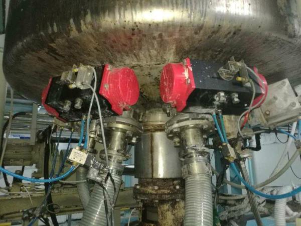 专利气动罐底阀在反应釜安装时的注意事项