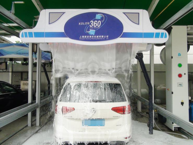 无接触洗车机 KOLON CAR WASH