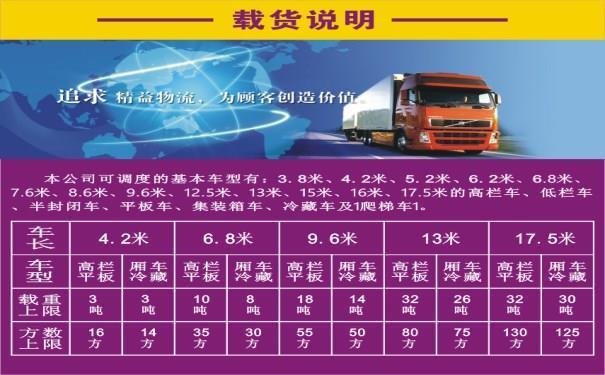 北京到石家庄4.2车货车出租