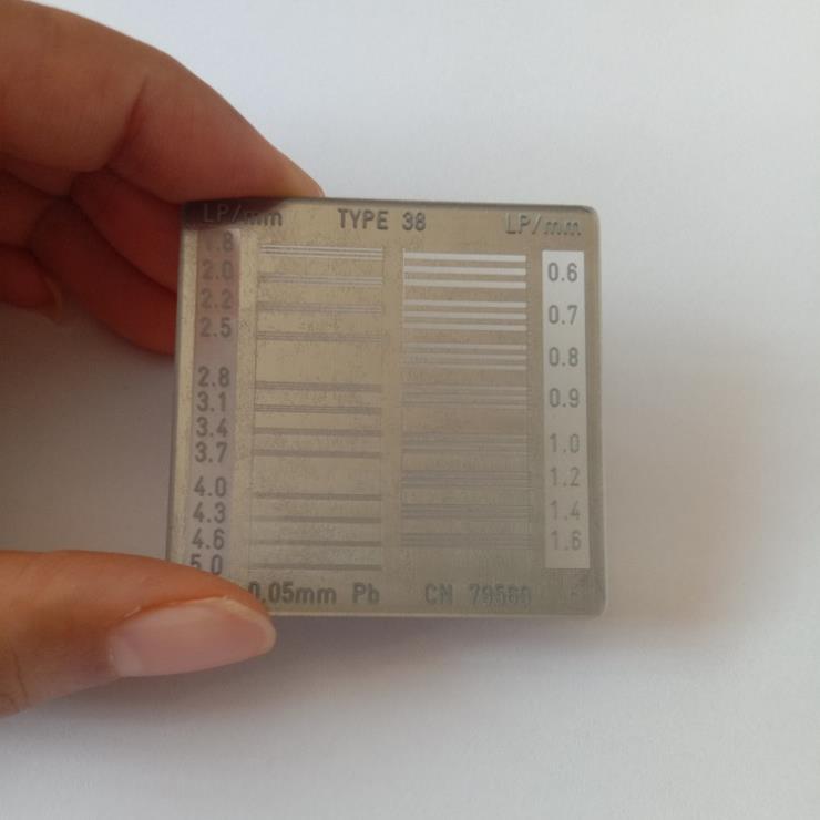 38型测试卡日常维护及测量范围