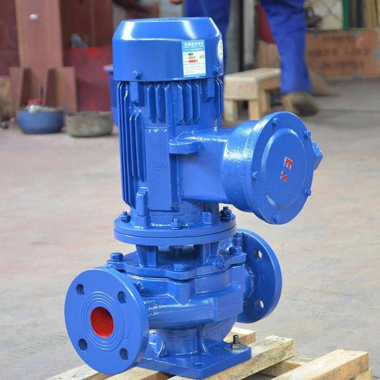 YG立式管道油泵, YG100-100A立式防爆管道泵
