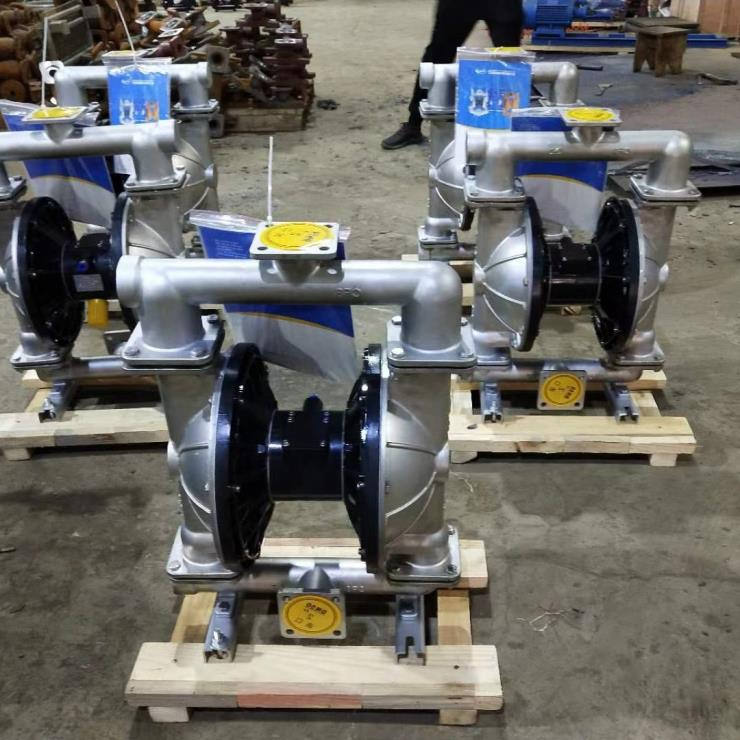 QBY3不锈钢气动隔膜泵 ,新型气动隔膜泵