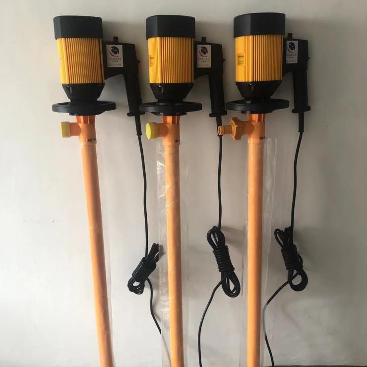 无极调速电动抽液泵,PVDF强耐腐蚀电动抽油泵