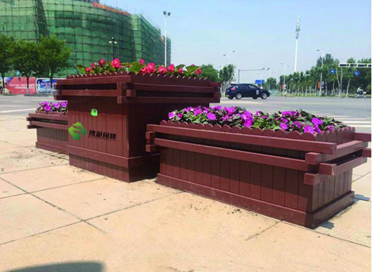 塑木花箱价格