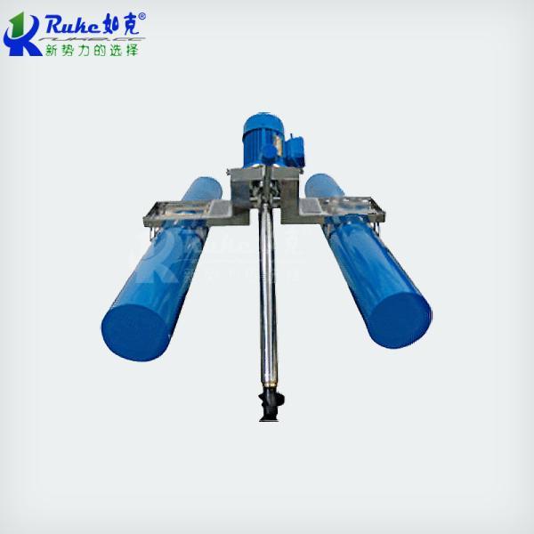 LJB型螺旋式搅拌曝气机 浮载和固载两种安装方式