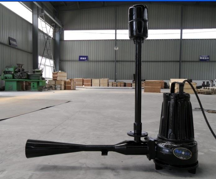 如克厂家供应沉水单吸式喷流曝气机QSB5.5
