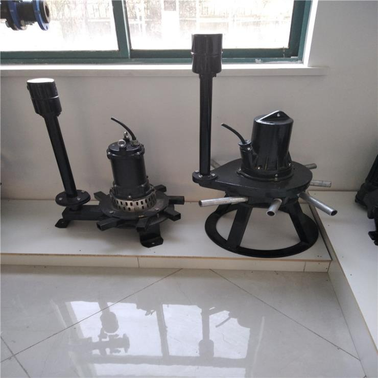 QXB型离心式潜水曝气机 泵式造流曝气机