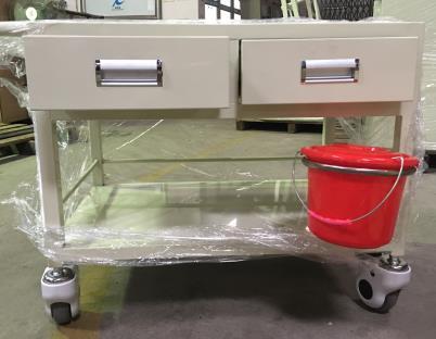 广东佛山厂家直销 钢喷塑双抽治疗车
