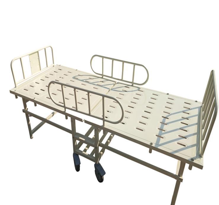 厂家直供应优质钢塑折叠床 康之星塑钢折叠床(配脚轮)