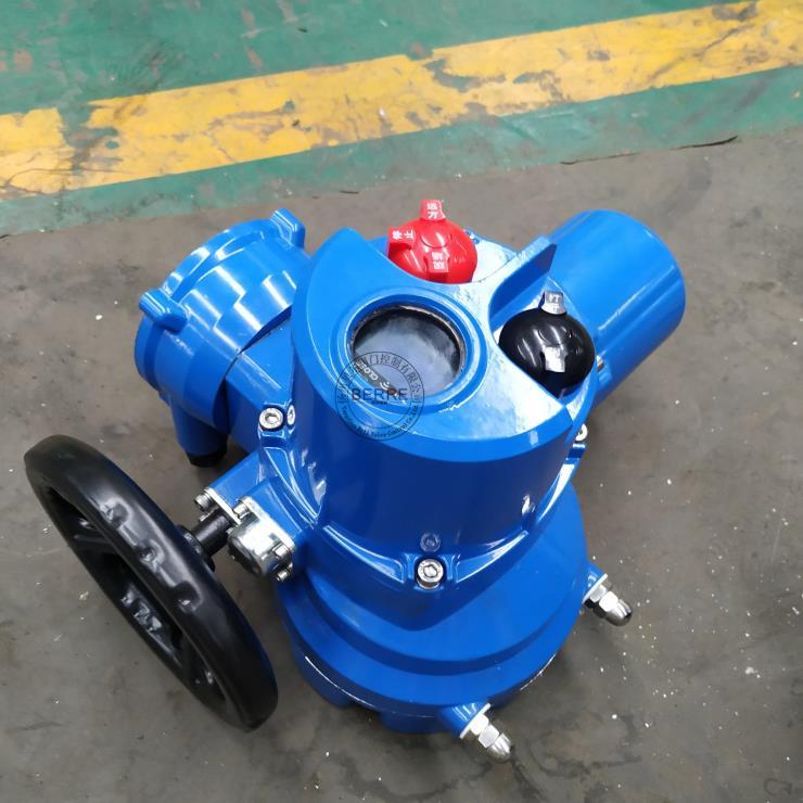 扬州贝尔<strong>Q90-0.5W/ZT一体化整体调节型阀门电动装置</strong>