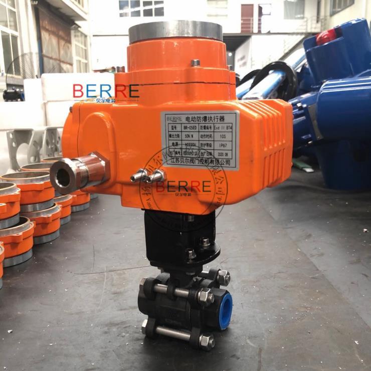 江苏贝尔电装 BST-10精小型阀门电动执行器