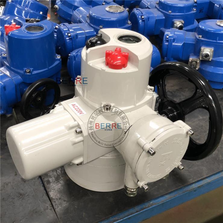 整体调节型部分回转Q90阀门电动执行器