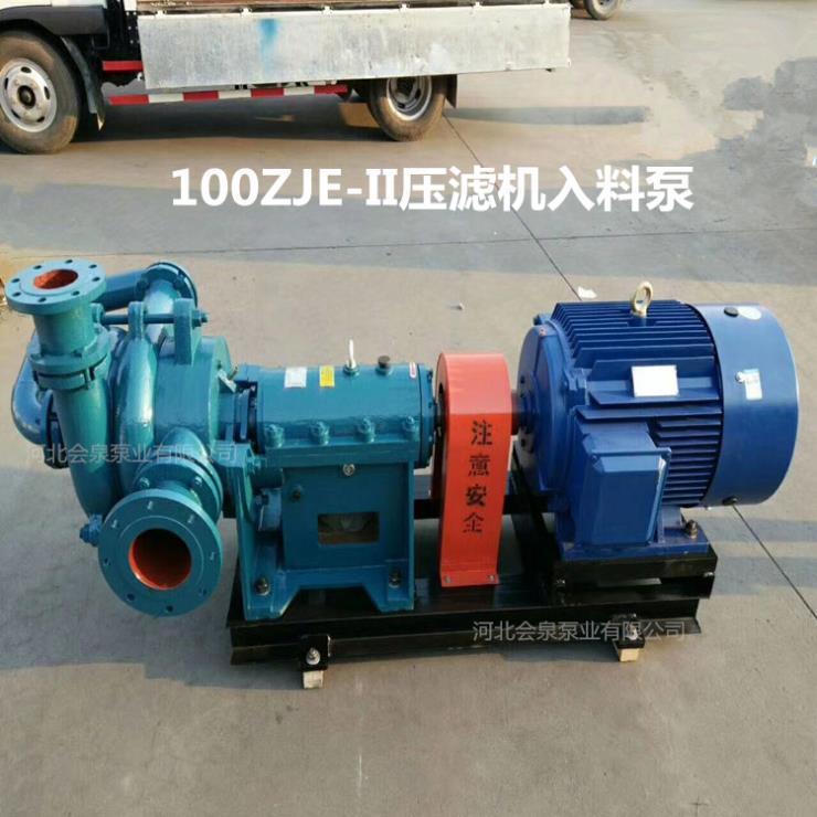 100SYA85-90染料厂压滤机泥浆泵大余对比后推