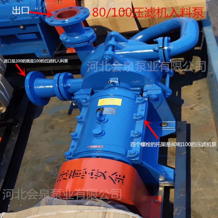 80SYA100-90油漆行业压滤机泥浆泵广丰区性能