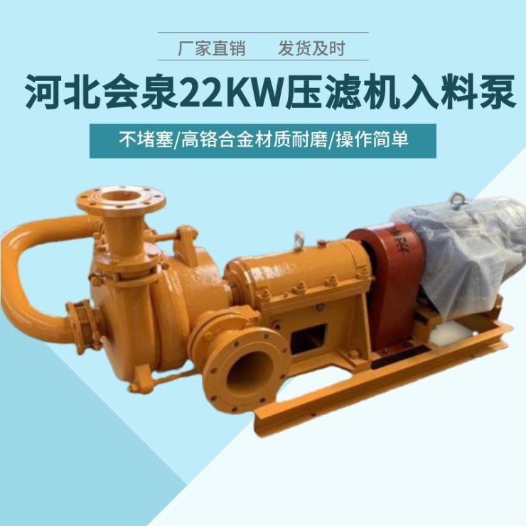 50SYA65-22(30)造纸厂压滤机泥浆泵兴国必