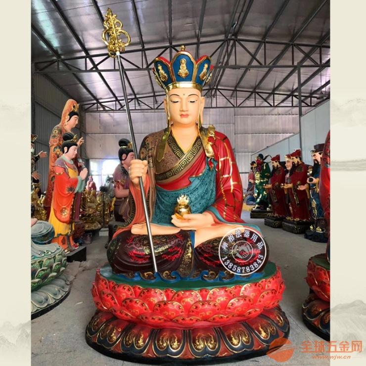 那里有雕塑极彩娑婆三圣佛像价格