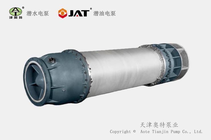 不锈钢潜水管中泵结构及特征