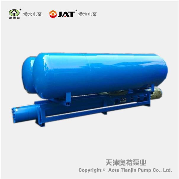 1000方QJF大排量浮筒式潜水泵_池塘排水_河道取水