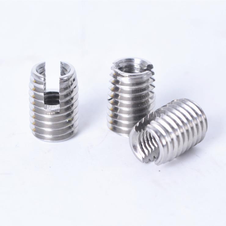 316不锈钢自攻螺套螺纹护套厂家