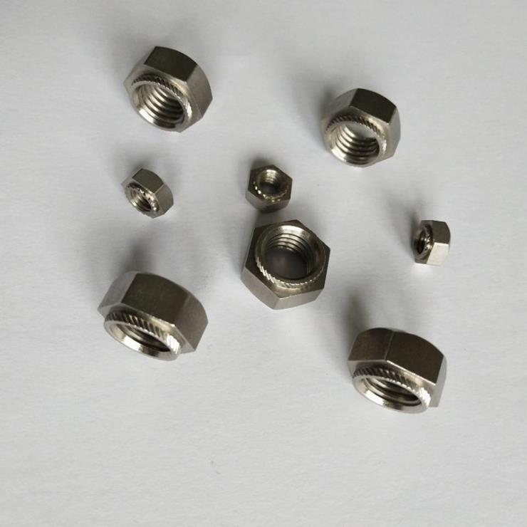 不锈钢304斜花齿六角压铆螺母卡雷凯利螺母BSOB