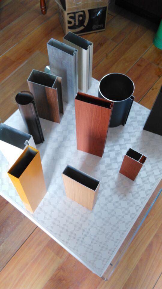 木纹铝方通,铝方管生产厂家,铝方通报价