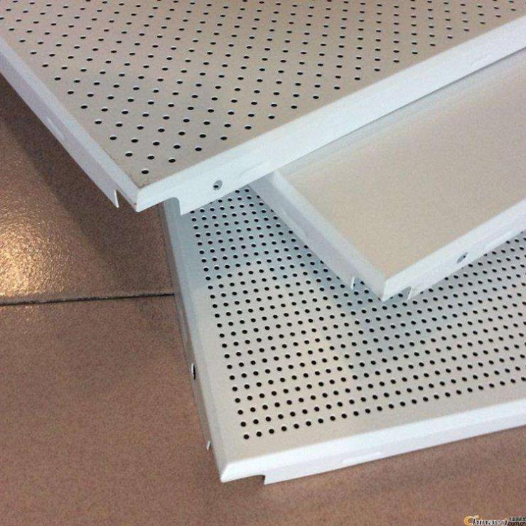 吊顶保温铝扣板 方形铝天花板 600×0.8铝扣板
