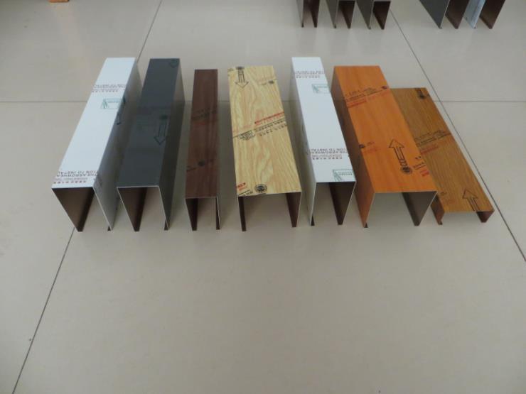 转印铝方通 木纹铝方管 吊顶铝方通