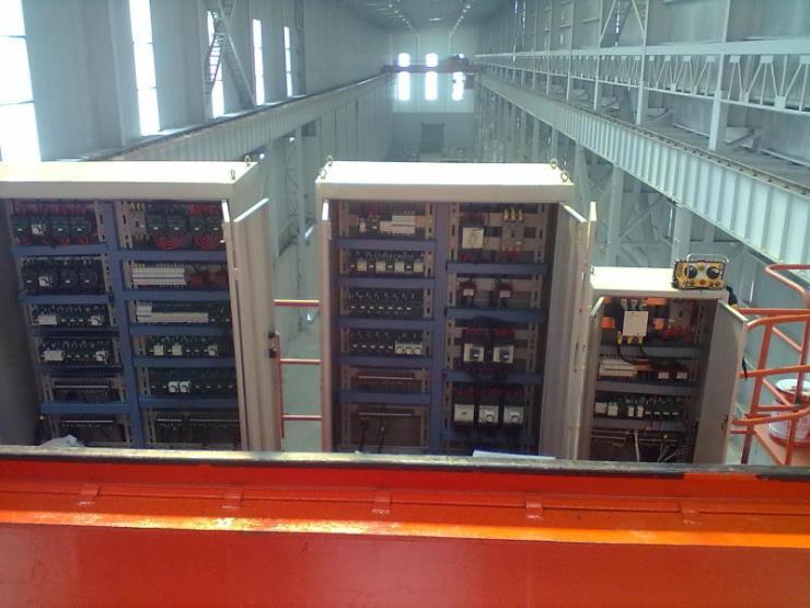 32噸變頻起重機A型75/20-100/20t雙梁門式起重機電葫蘆電氣箱價格