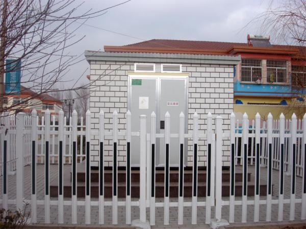 浙江PVC塑鋼護欄價格 變壓器塑鋼護欄 德清萬誠護欄廠