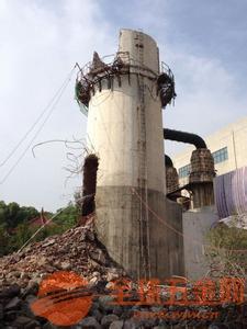 湘潭混凝土烟囱拆除公司――点赞