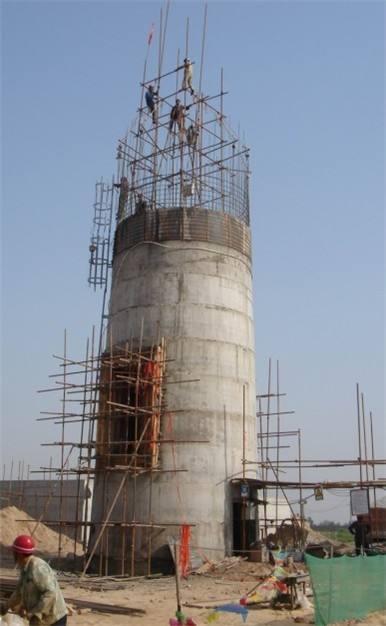 水泥烟囱拆除措施
