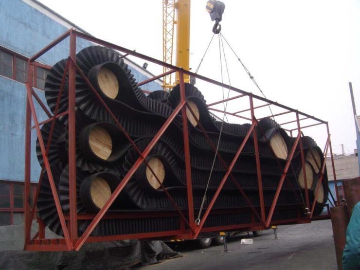 青岛制造波浪型输送胶带厂家
