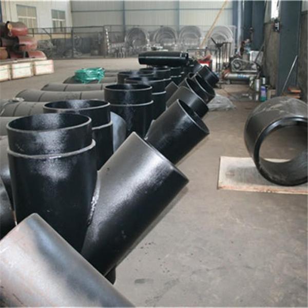 厂家生产Y型三通 45°三通 焊接三通 可图纸加工