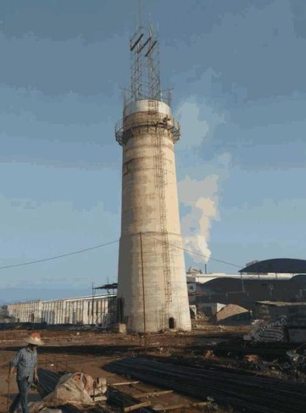 资阳区30-50米烟囱新建